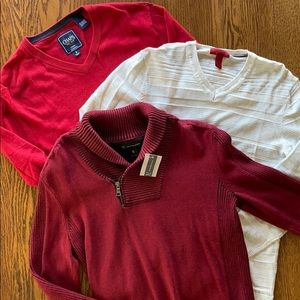 Men's Brand name sweaters sm. Inc., Alfani, Chaps